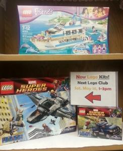 Lego Club Kits May 2015