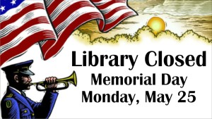 Memorial Day 2015 Closed