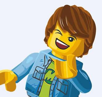 Lego kid shout