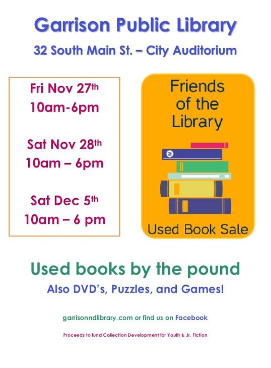 FOL Used Book Sale 2016