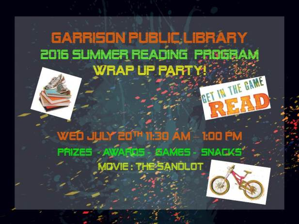 2016 SRP Wrap Up Party