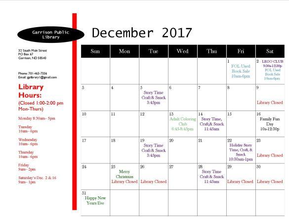 December 2017 EventCalendar 1